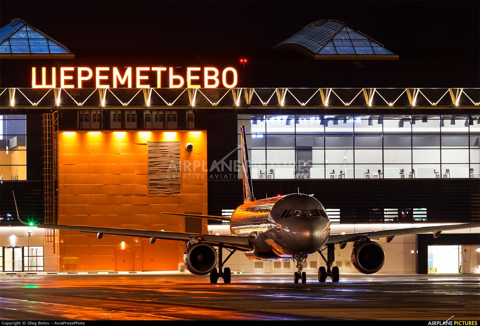 Aeroflot VP-BLP aircraft at Moscow - Sheremetyevo