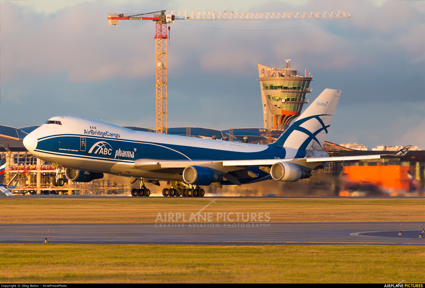 Air Bridge Cargo VP-BIG aircraft at Moscow - Sheremetyevo