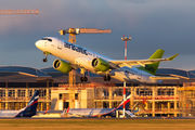 YL-CSF - Air Baltic Bombardier CS300 aircraft