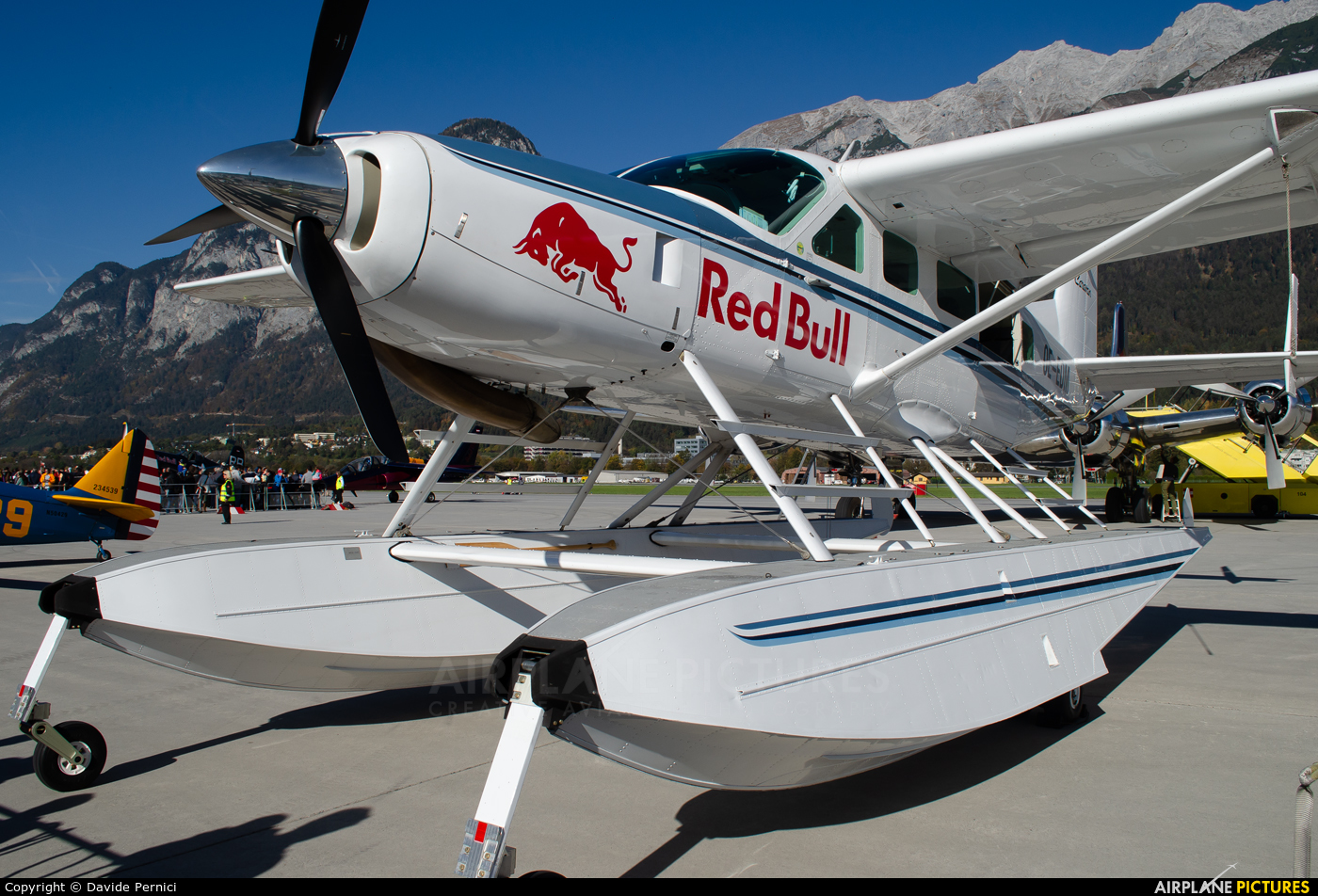 The Flying Bulls OE-EDM aircraft at Innsbruck