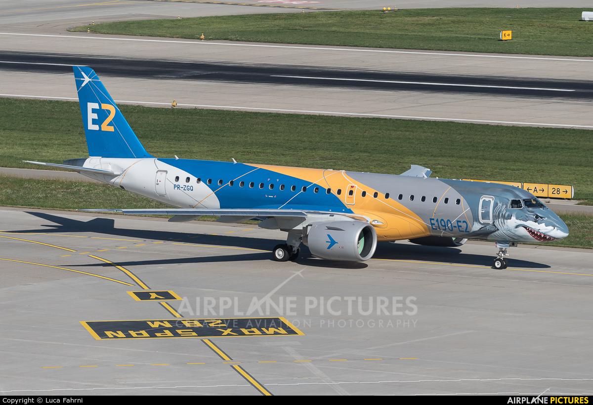 Embraer PR-ZGQ aircraft at Zurich