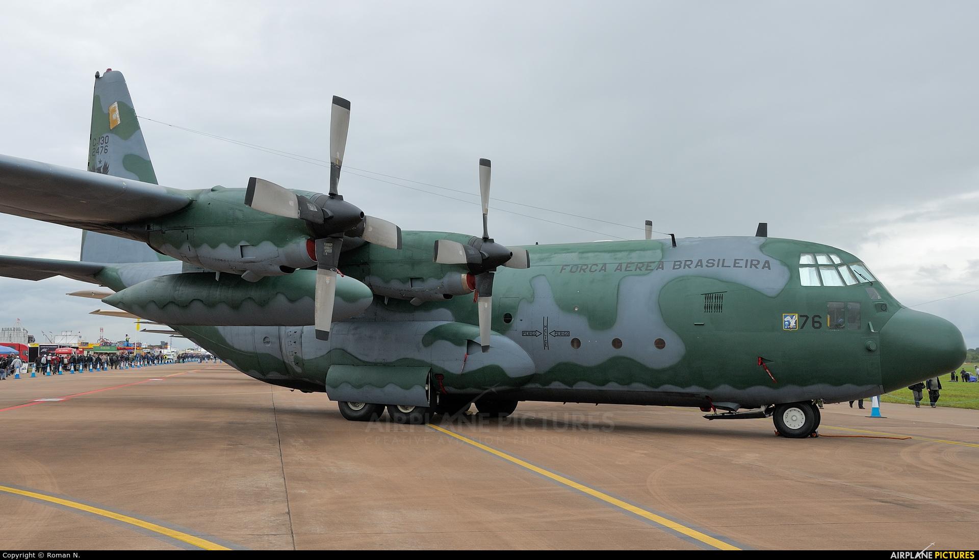 Brazil - Air Force 2476 aircraft at Fairford
