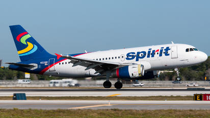 N521NK - Spirit Airlines Airbus A319