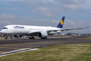First visit of Lufthansa Airbus A350 to Mexico title=
