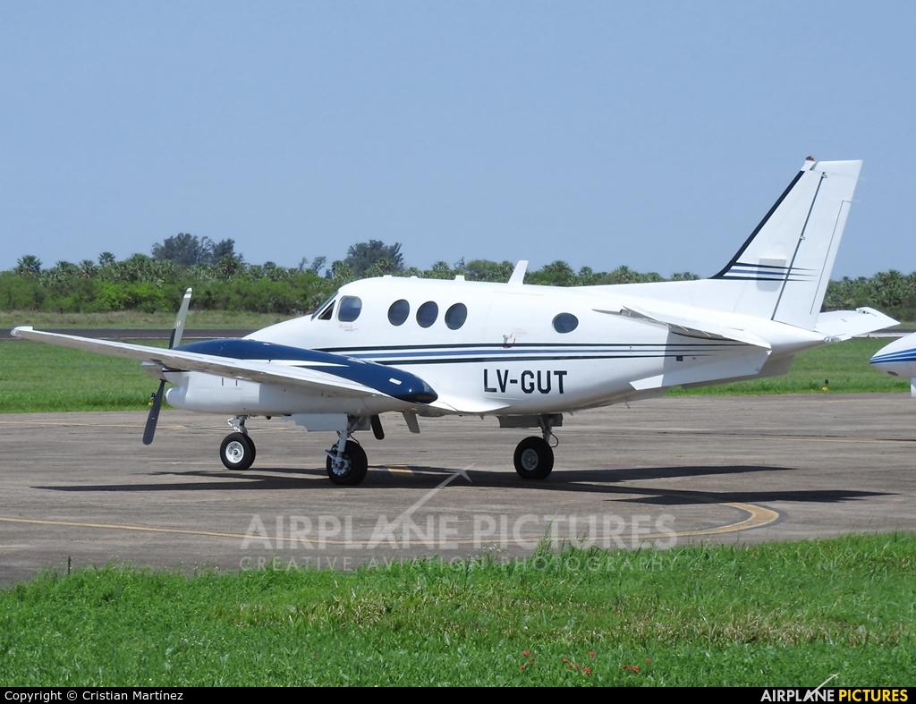 Private LV-GUT aircraft at Formosa Intl
