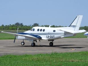 LV-GUT - Private Beechcraft 90 King Air