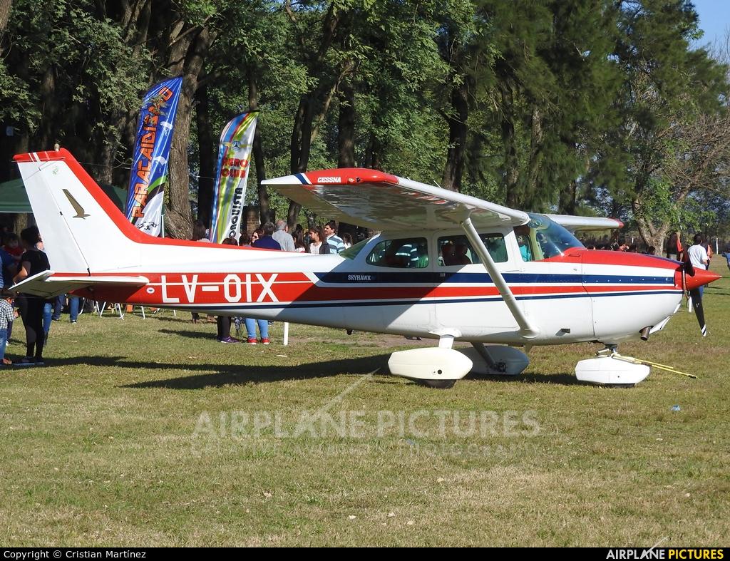 Private LV-OIX aircraft at Santa Fe - Villa Ocampo