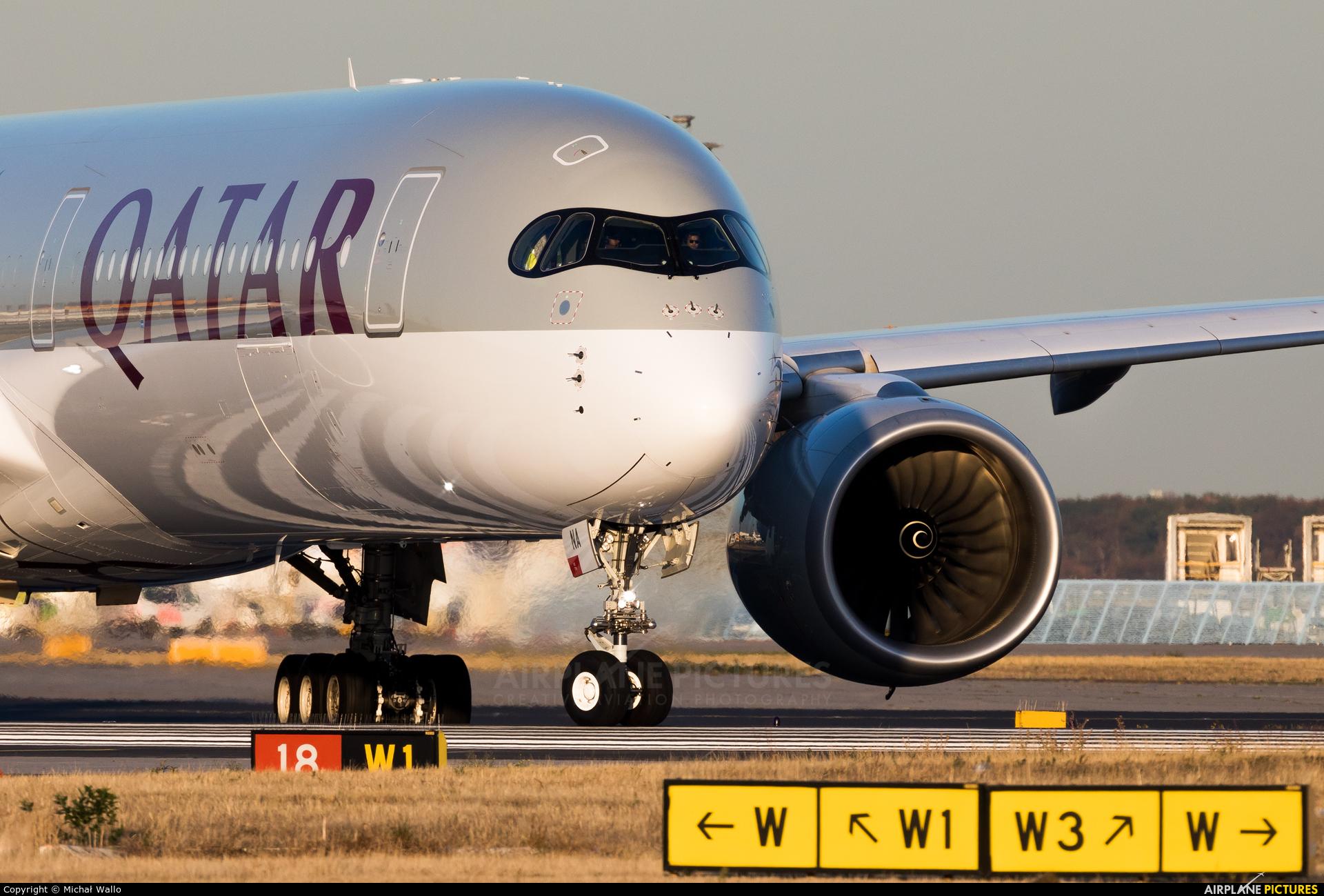 Qatar Airways A7-ANA aircraft at Frankfurt
