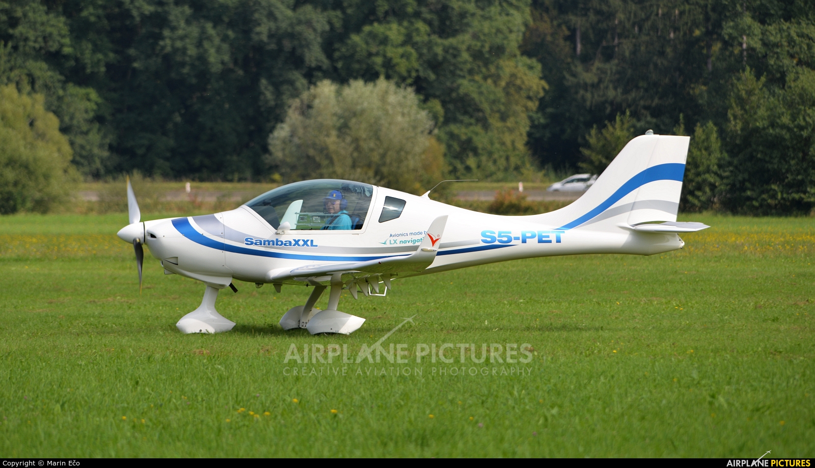 Aeroklub Murska Sobota S5-PES aircraft at Levec