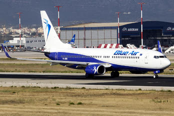 YR-BMD - Blue Air Boeing 737-800