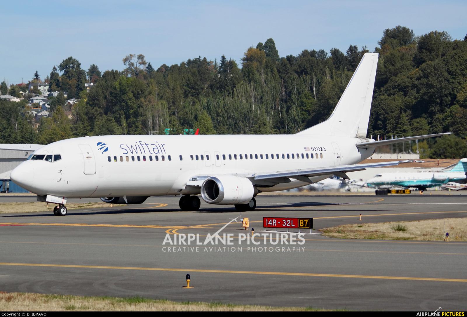 Swiftair N313XA aircraft at Seattle - Boeing Field / King County Intl