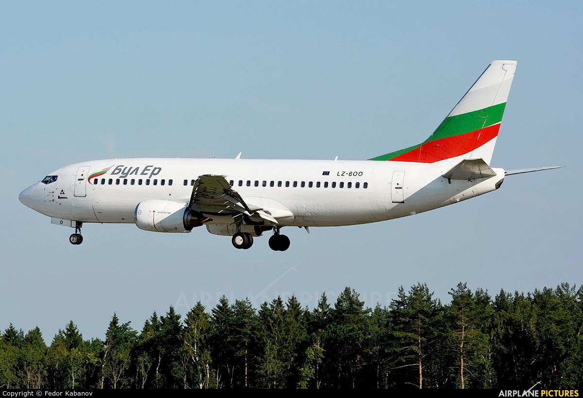 Bulgaria Air LZ-BOO aircraft at Moscow - Vnukovo