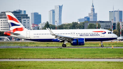 G-TTNC - British Airways Airbus A320 NEO