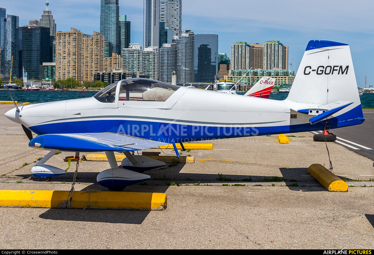 Private C-GOFM aircraft at Toronto - Billy Bishop, ON