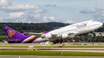 HS-TGA - Thai Airways Boeing 747-400 aircraft