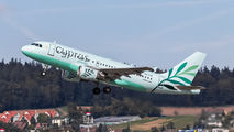 5B-DCW - Cyprus Airways Airbus A319 aircraft