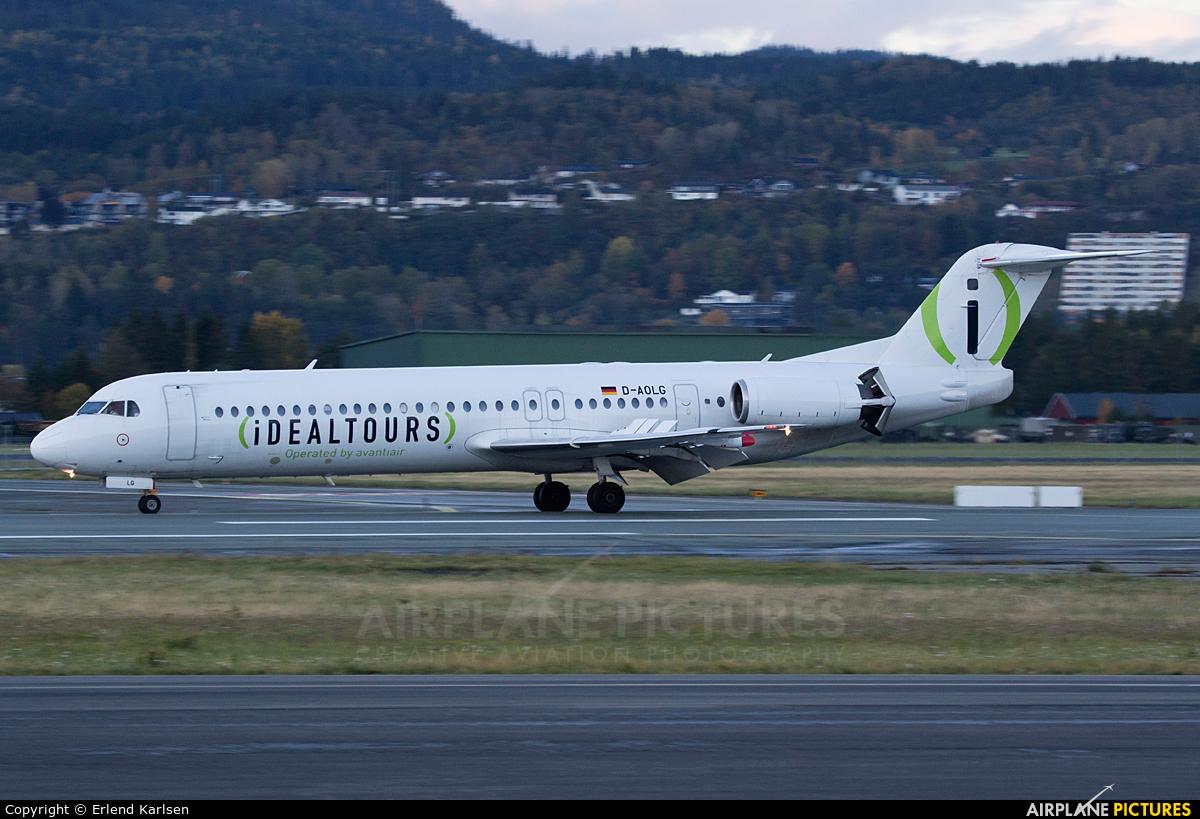 AvantiAir D-AOLG aircraft at Trondheim - Vaernes