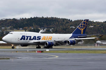 N429MC - Atlas Air Boeing 747-400BCF, SF, BDSF