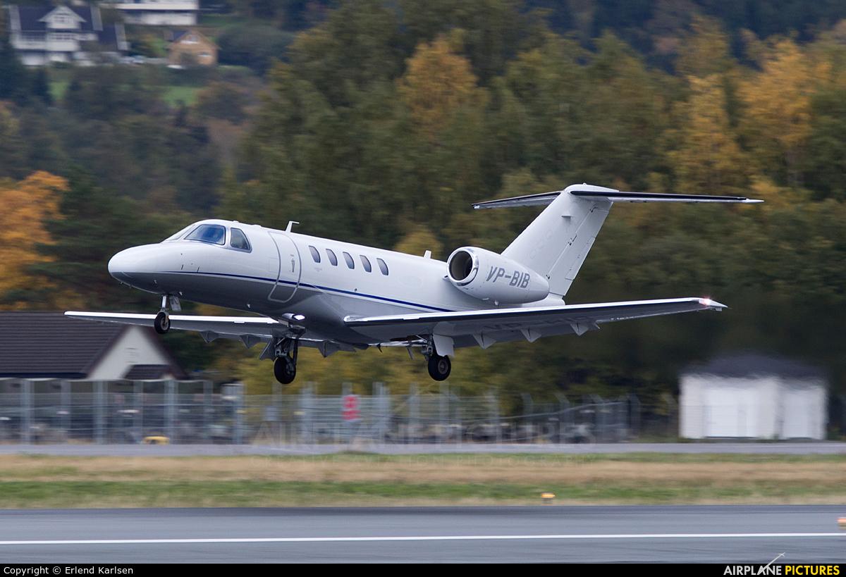 Private VP-BIB aircraft at Trondheim - Vaernes