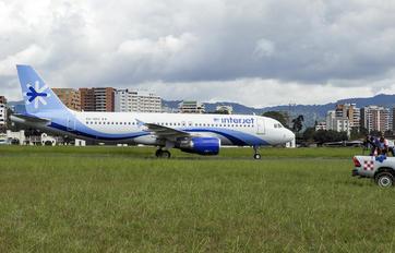XA-UHE - Interjet Airbus A320