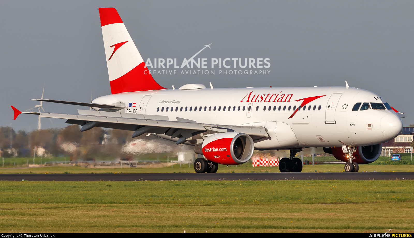 Austrian Airlines/Arrows/Tyrolean OE-LDC aircraft at Amsterdam - Schiphol