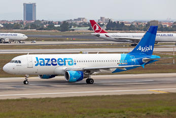 9K-CAM - Jazeera Airways Airbus A320