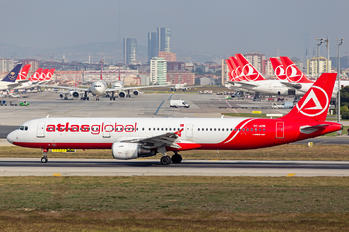 TC-ATR - Atlasglobal Airbus A321