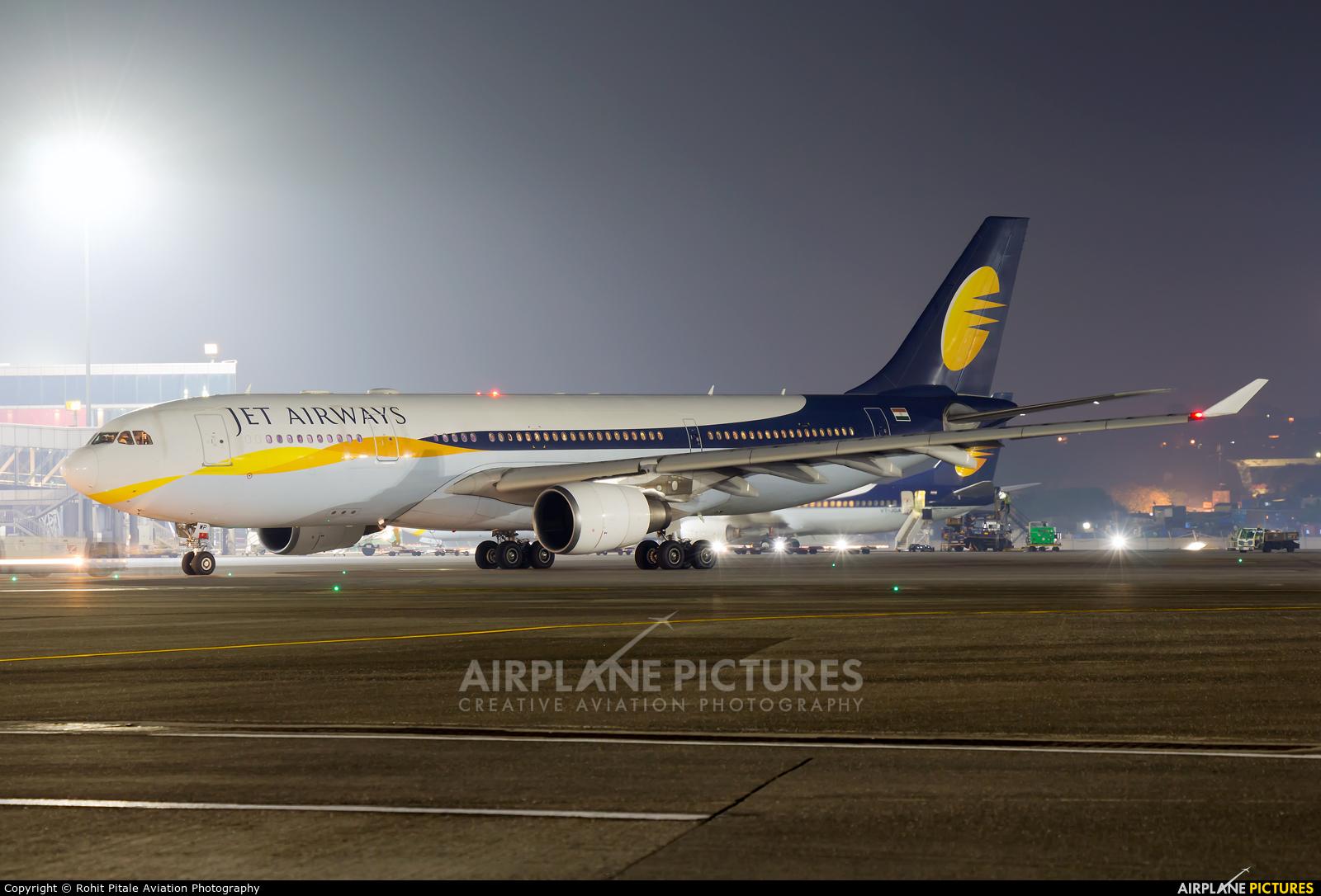 Jet Airways VT-JWP aircraft at Mumbai - Chhatrapati Shivaji Intl