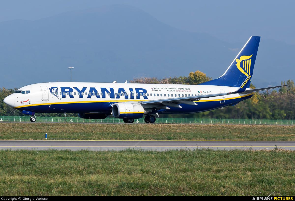 Ryanair EI-EFY aircraft at Bergamo - Orio al Serio
