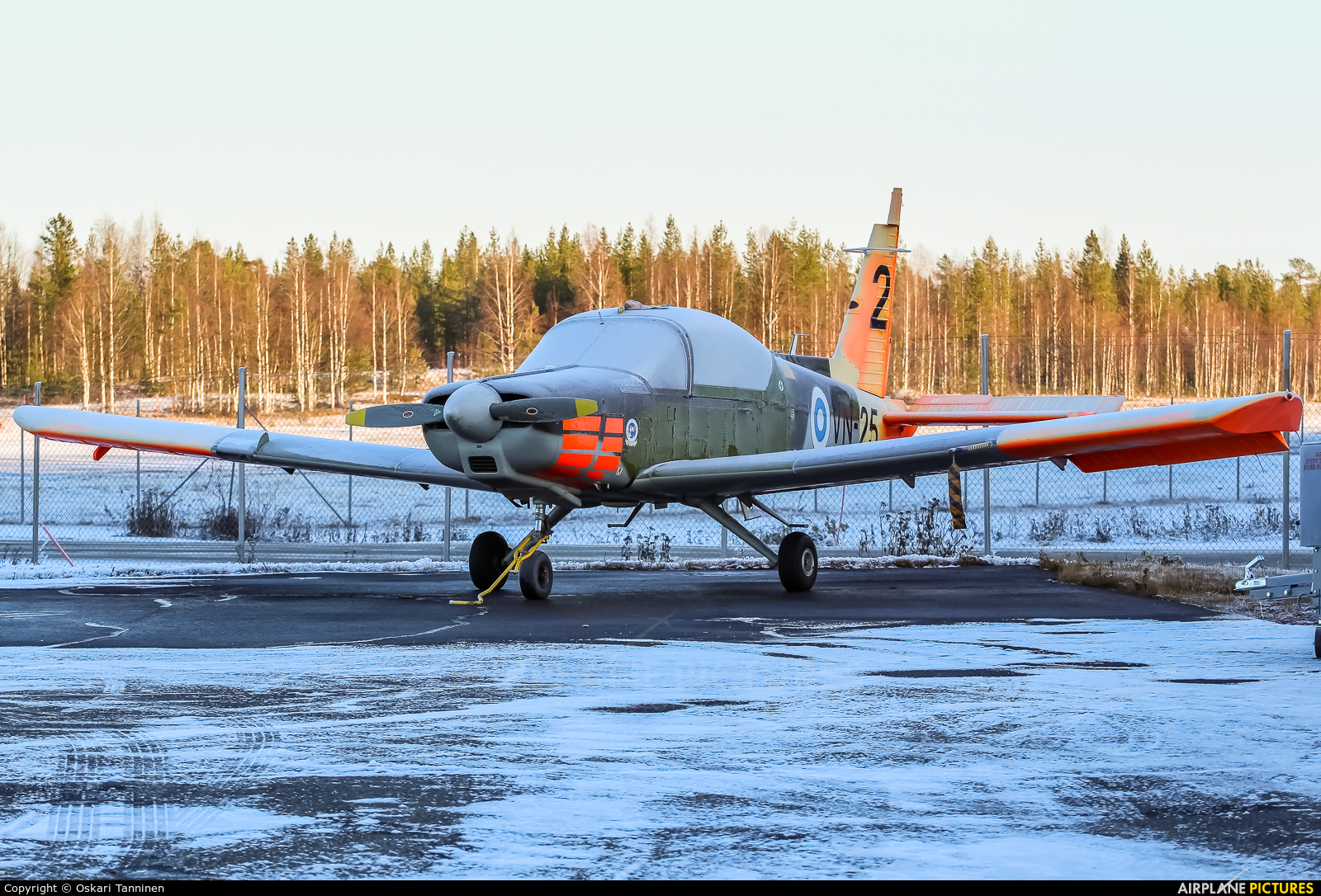 Finland - Air Force VN-25 aircraft at Rovaniemi