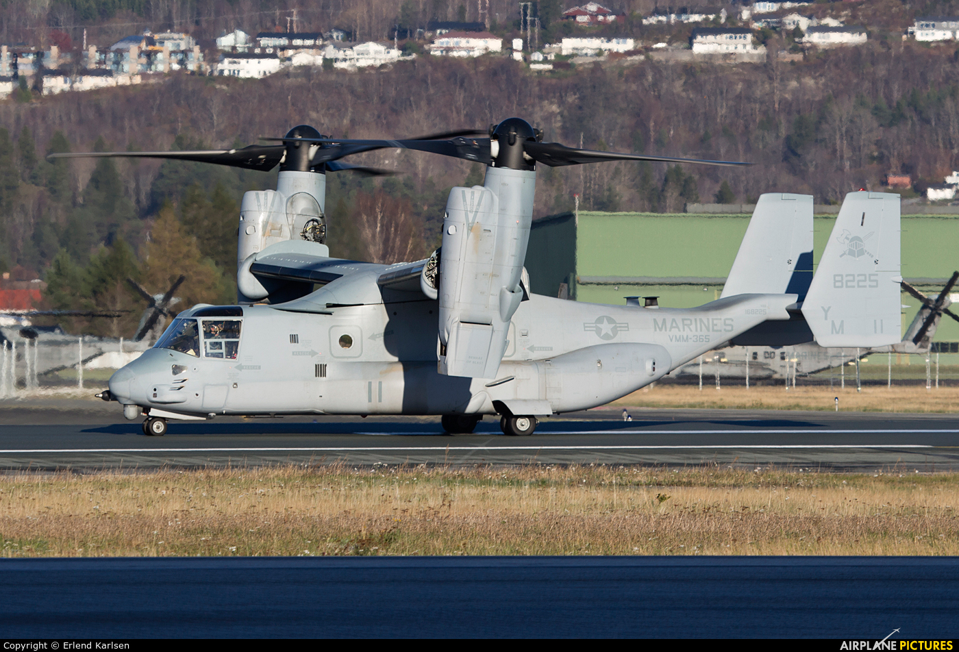 USA - Marine Corps 168225 aircraft at Trondheim - Vaernes