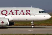 A7-LAG - Qatar Airways Airbus A320 aircraft