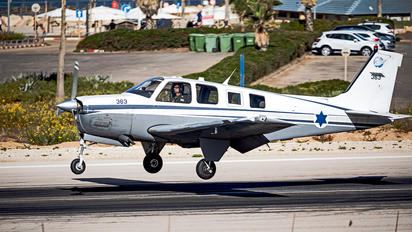 363 - Israel - Defence Force Beechcraft 36 Bonanza