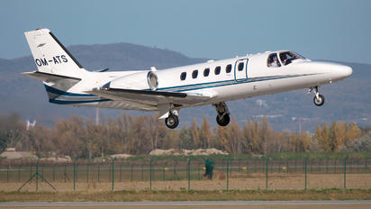 OM-ATS - Air Transport Europe Cessna 550 Citation Bravo