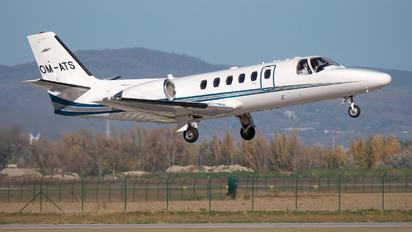 OM-ATS - Air Transport Europe Cessna 550 Citation Bravo