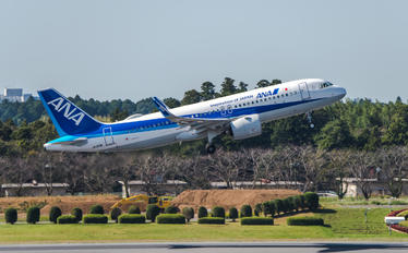 JA213A - ANA - All Nippon Airways Airbus A320 NEO