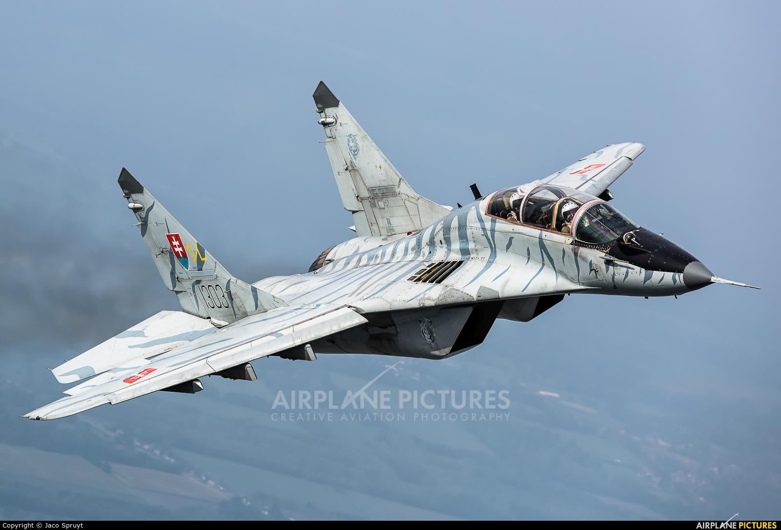 Slovakia -  Air Force 1303 aircraft at In Flight - Belgium