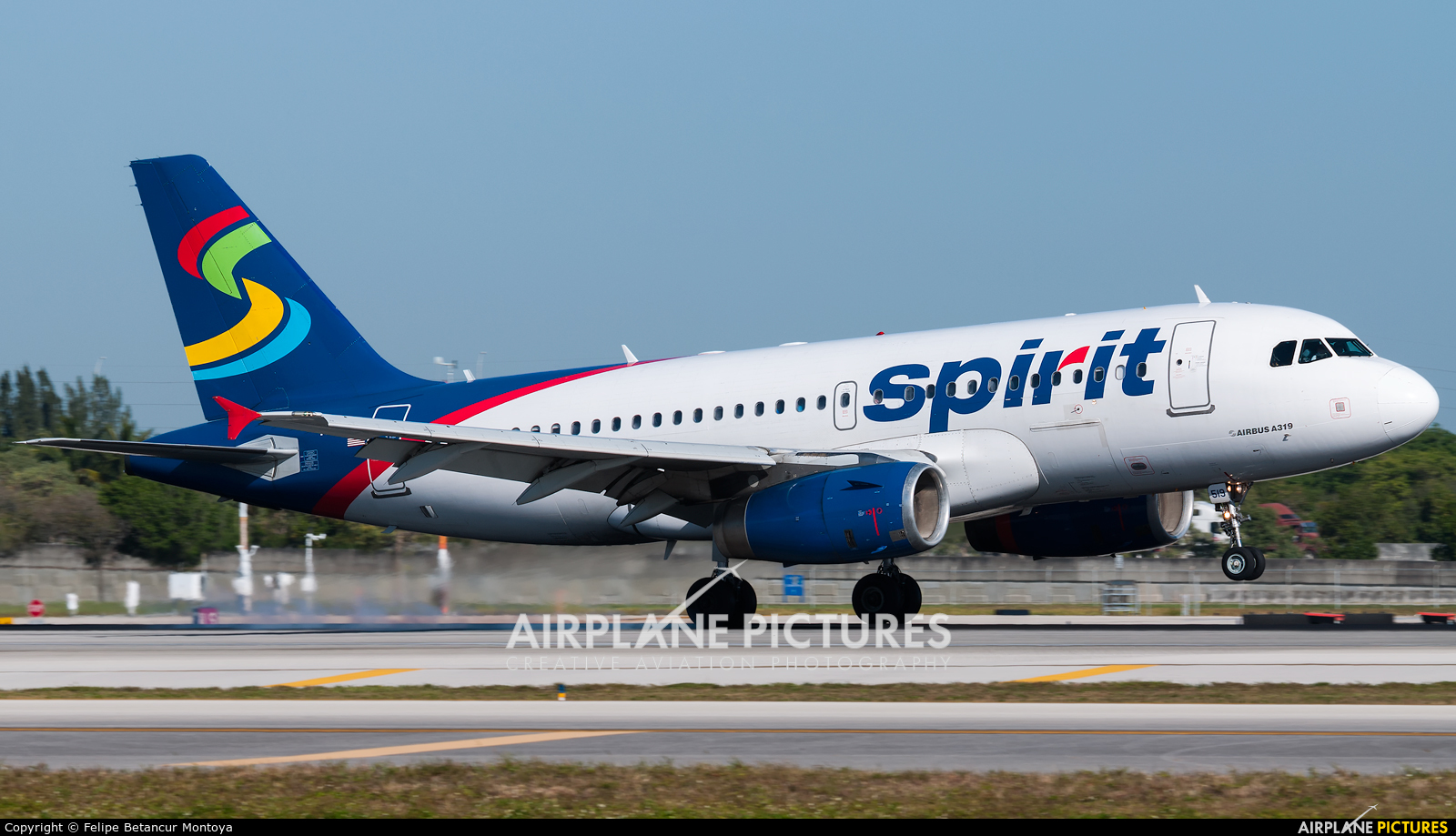 Spirit Airlines N519NK aircraft at Fort Lauderdale - Hollywood Intl