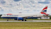 G-EUYM - British Airways Airbus A320 aircraft