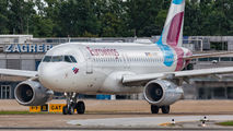 D-AGWY - Eurowings Airbus A319 aircraft