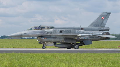 4083 - Poland - Air Force Lockheed Martin F-16D Jastrząb