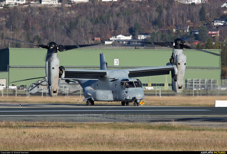 USA - Marine Corps 168330 aircraft at Trondheim - Vaernes
