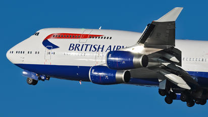 G-BYGB - British Airways Boeing 747-400