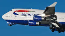 G-BYGB - British Airways Boeing 747-400 aircraft