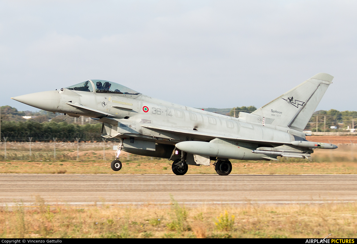 Italy - Air Force MM7277 aircraft at Gioia del Colle