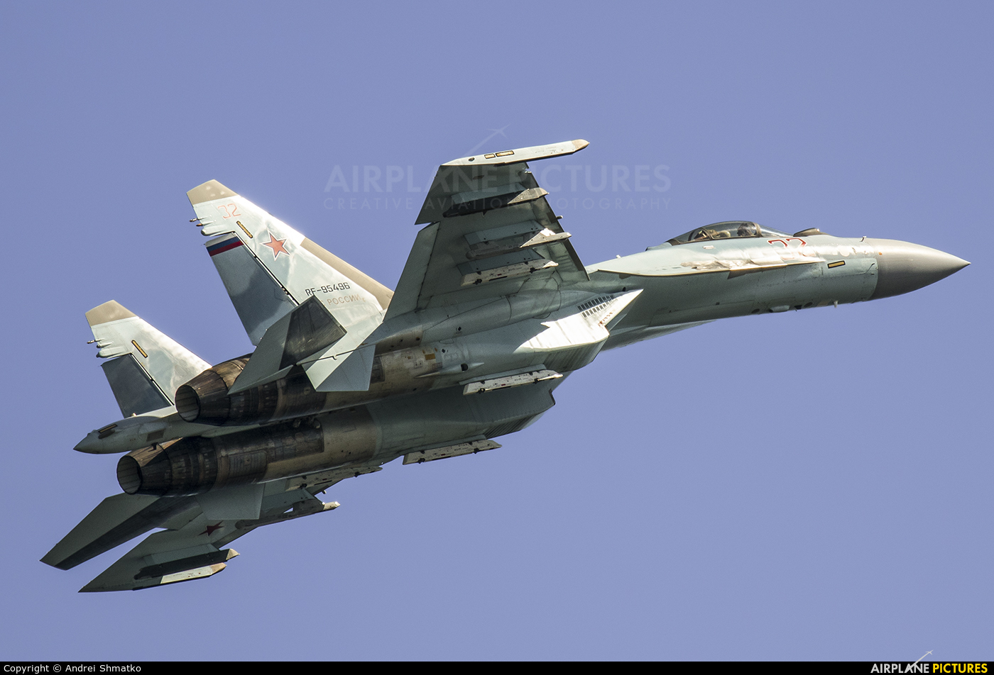 Russia - Air Force RF-95496 aircraft at Off Airport - Russia
