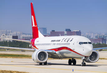 B-1152 - Shanghai Airlines Boeing 737-8 MAX