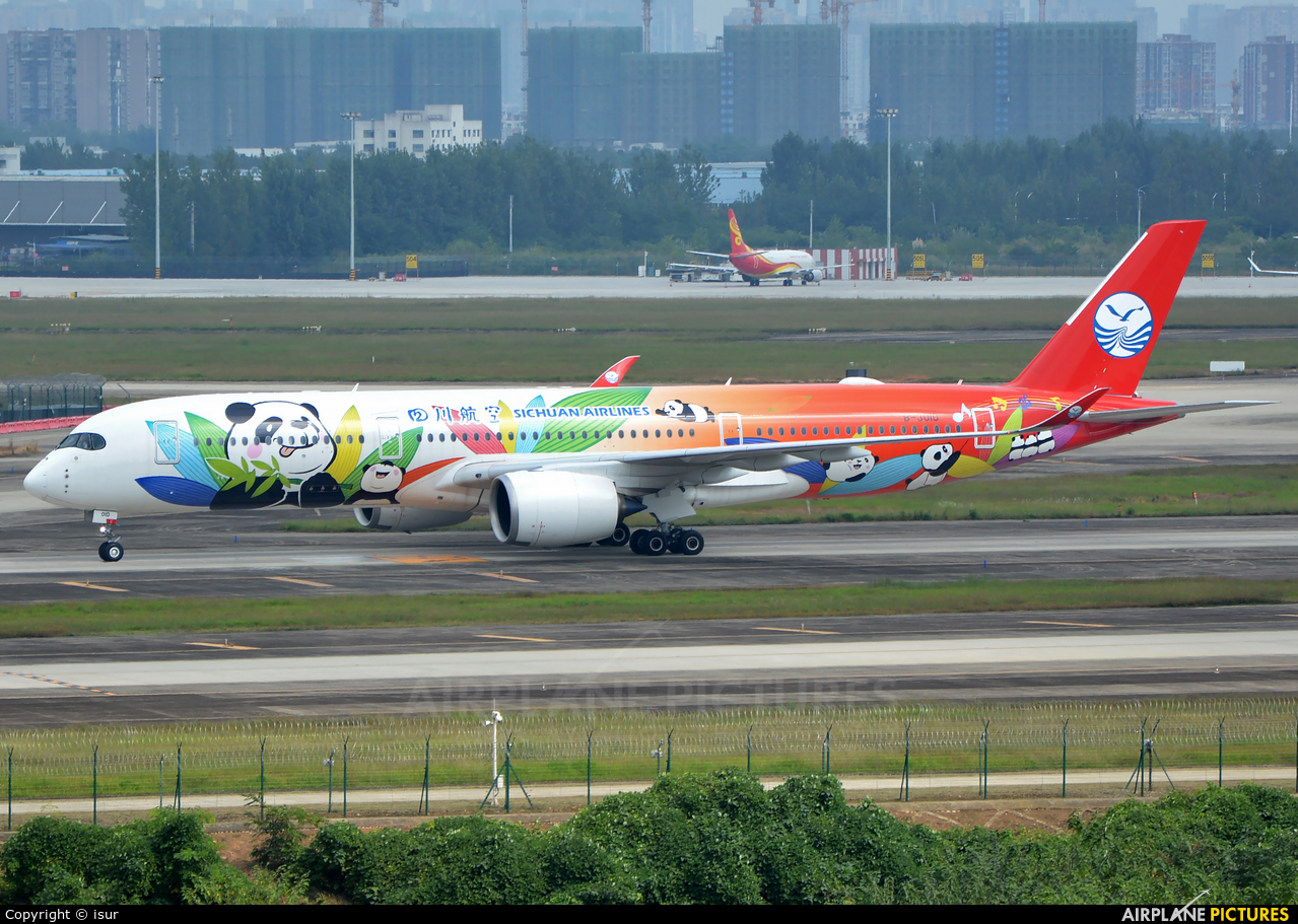 Sichuan Airlines  B-301D aircraft at Chengdu