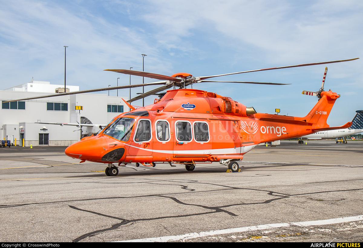 ORNGE C-GYNN aircraft at Toronto - Billy Bishop, ON