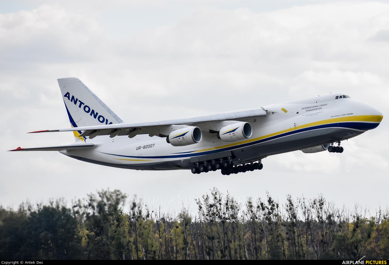 Antonov Airlines /  Design Bureau UR-82007 aircraft at Wrocław - Copernicus